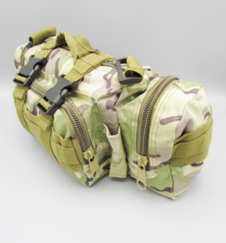 Survival-Tools - Carrier bag made of sturdy nylon, splash-proof - camo colors, 2