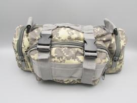 Survival-Tools - Draagtas van stevig nylon, spatwaterdicht - Woestijn-camokleuren, nr.4