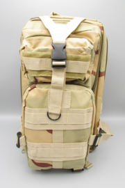 Survival-Tools - Backpack made of sturdy nylon, splash-proof - camouflage colors, nr.5