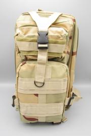 Survival-Tools - Rugtas van stevig nylon, spatwaterdicht - camouflage kleuren, nr.5