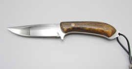 Handmade hunting knife with handle from Cocobolo wood, no.4