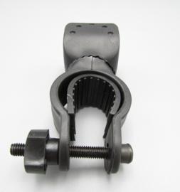 Handlebar adapter for flashlight for the bike