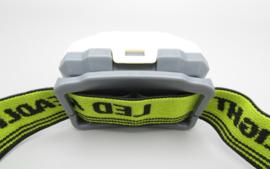 YYEDC - LED headlight - LED lamp for the head, green - white