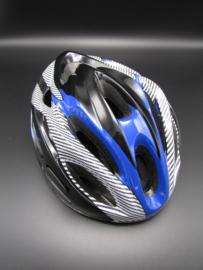 Bicycle helmet - blue