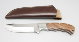 Hunting knife with walnut handle, no.4