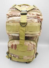 Survival-Tools - Rugtas van stevig nylon, spatwaterdicht - camouflage kleuren, nr.3