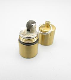 Tian 210 - mini benzine aansteker - goudkleurig