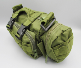 Survival-Tools - Carrying case made of sturdy nylon, splash-proof - army green