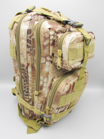 Survival-Tools - Backpack made of sturdy nylon, splash-proof - camouflage colors, no.3