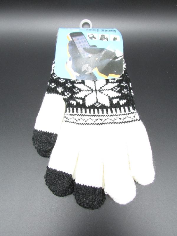Dames handschoenen - touch gloves - wit