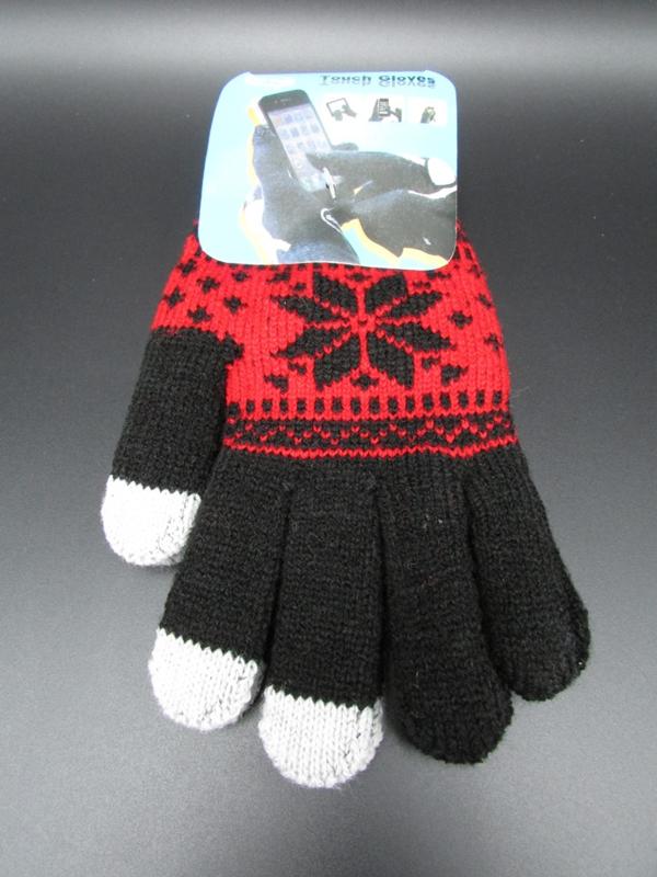 Dames handschoenen - touch gloves - zwart