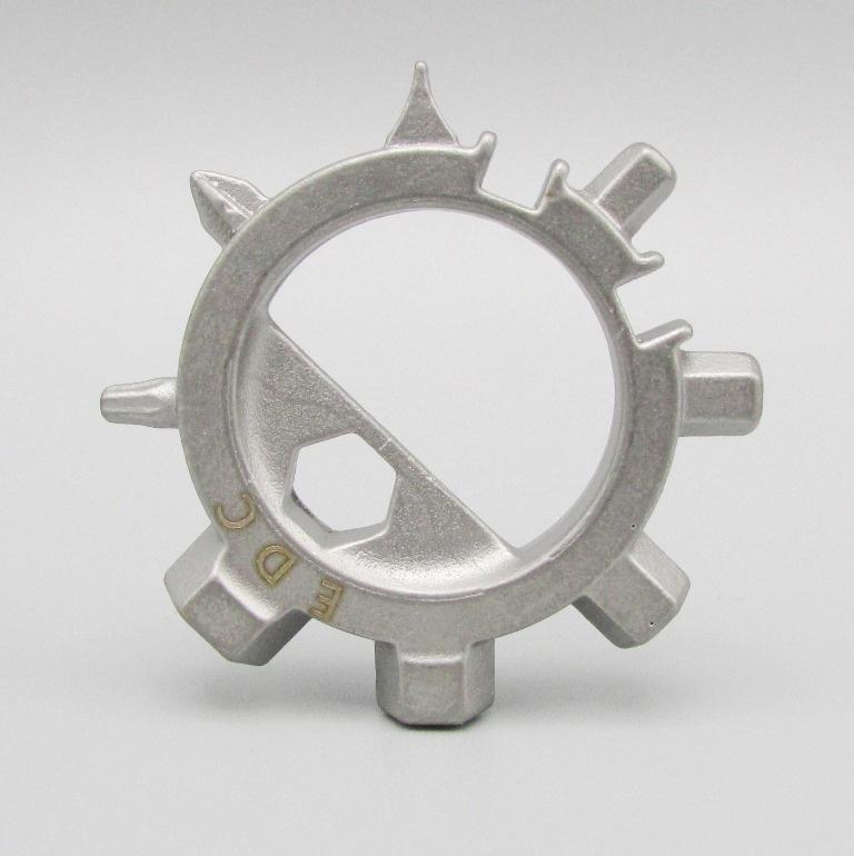 EDC gear - Multitool ring zilverkleurig