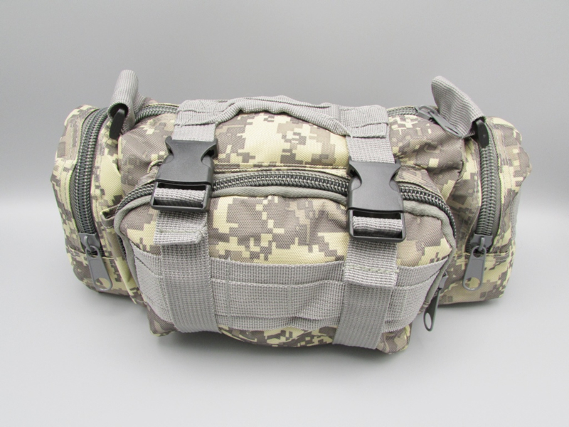 Survival-Tools - Carrying case made of sturdy nylon, splash-proof - Desert camo colors, no.4