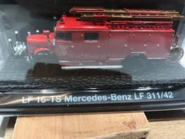 Brandweer magazine models: LF 16-TS Mercedes-Benz LF 311/42