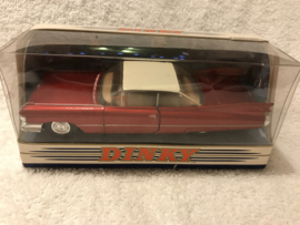 DY-7 1959 Cadillac Coupe de Ville rood metallic