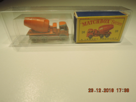 Matchbox Series no 26 betonmolen 3 assen