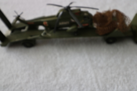Dinky Toys Aec Artic Transporter with Helicopter