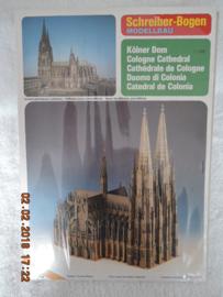 Scheiber-Bogen  modelbouw  de Dom van Keulen