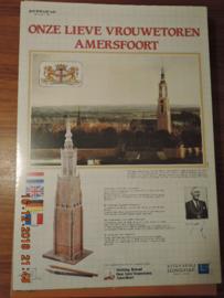 Scheiber-Bogen  modelbouwplaat 'onze lieve vrouwetoren Amersfoort'