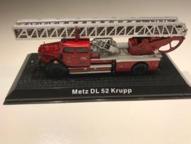 Brandweer magazine models Magirius Metz DL 52 Krupp