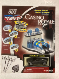 James Bond Twist 'n  race Casino Royale, Corgi Toys
