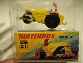 Matchbox  new no. 21 Rod Roller