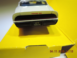 1979 Pontiac Fire bird Trans Am, wit