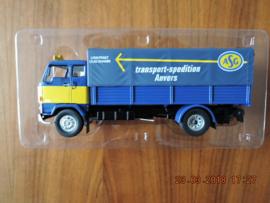 modellen nieuws Volvo F89 *ASG* truck, blue/yellow