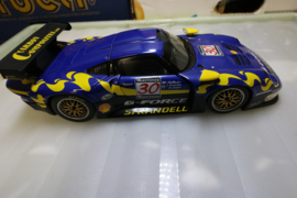 UT Models 1/18 Scale 39723 Porsche 911 GT1 1997 G-Force Blue