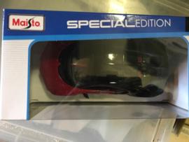 Maisto Bugatti Chiron Sport #16, 1:24 special edition rood