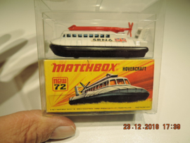 Matchbox,  new no. 72 Hovercraft