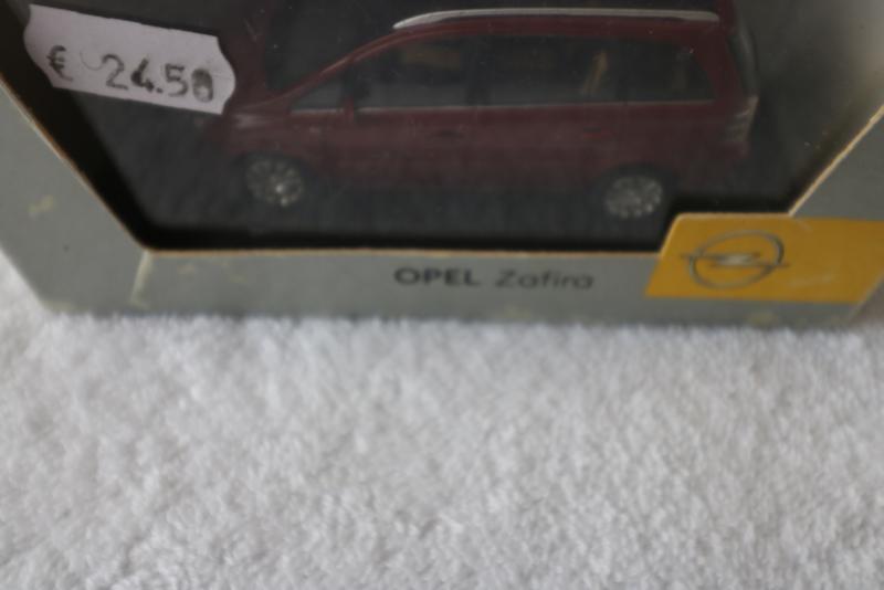 eigenmerk van OPEL, Zafira