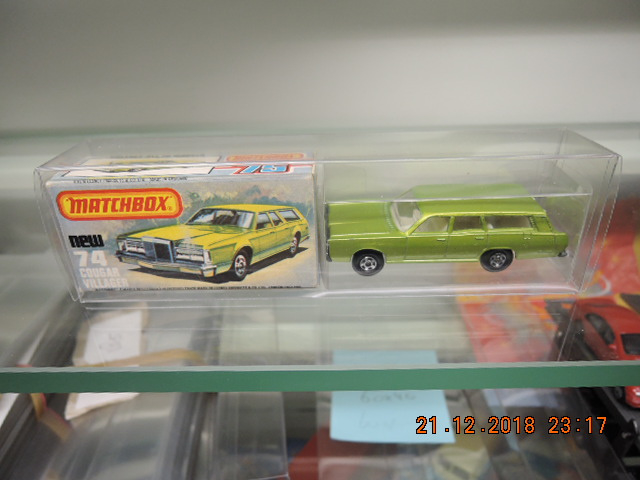 Matchbox, new no. 74 cougar Villager