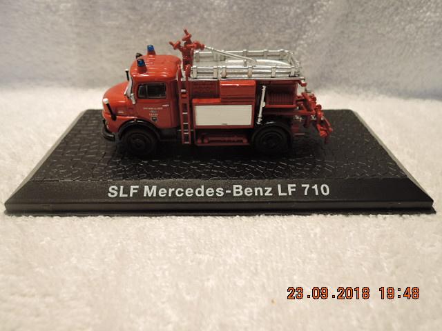 Magazine Brandweer models SLF Mercedes-Benz LF 710
