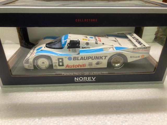 Porsche 962 C #8 3rd Place 24h Le Mans 198 - 1:18 - Norev