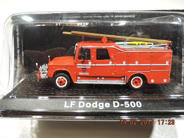 Magazine models Brandweer LF Dodge D-500