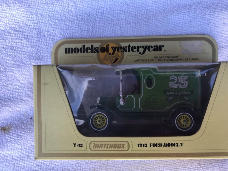 Matchbox, models of yesteryear Y-12