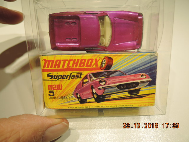 Matchbox new no, 5 Lotus Europa