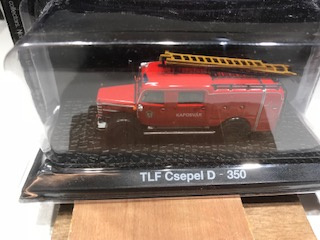 Brandweer magazine models TLF Csepel D - 350