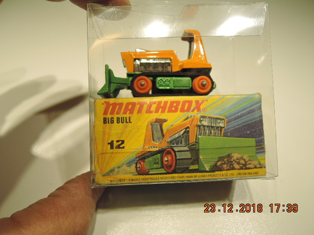 Matchbox no 12. Big Bull