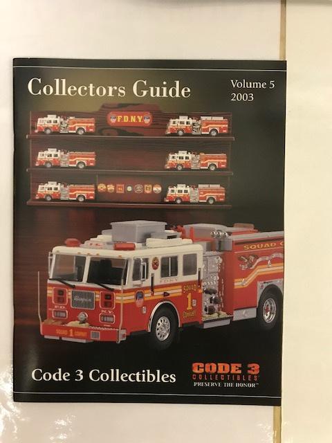 Code 3 Collectors Guide