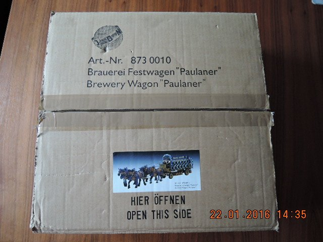 """Brauerei Festwagen """"paulaner"""""""