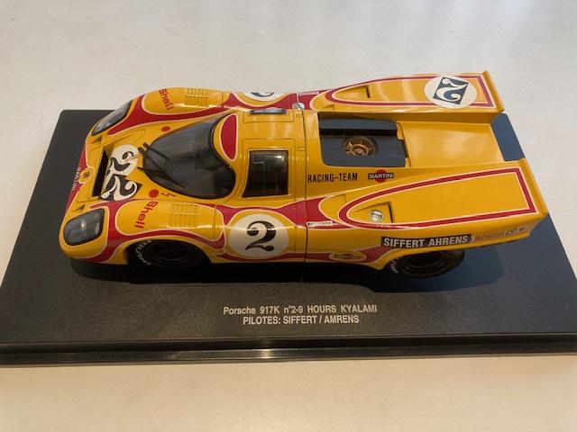 Eagle's Race Porsche 917K 1:18 geel, n'2-9 Hours