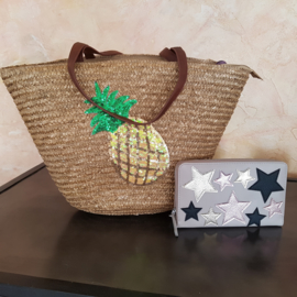 ananas shopper warm beige