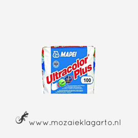 Voegmiddel Mapei Ultra Color Plus 250 gram Wit 100