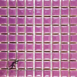 Keramiek tegel 10x10 mm per 81 Paars 043
