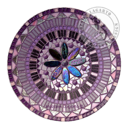 Schaal Mandala Paars/Roze