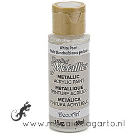 Acrylverf Metallic 59 ml White Pearl 26645