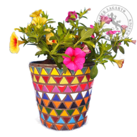 Mozaiekpakket 20 Plantenbakje Sombrero Multicolor