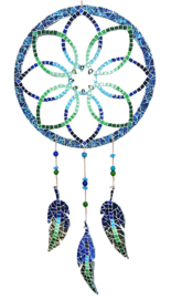 Mozaiekpakket 48 Dromenvanger Primavera Blauw/Groen